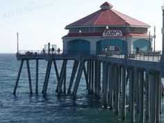 Ruby's Huntington Beach, CA  Time to Surf & Eat!