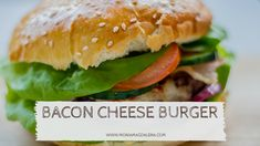 Recipe: Bacon cheese burger, with fries ⋆ MoniaMagdalena