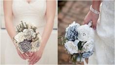 DIY Wedding Bouquet {Paper Flower Tutorial}