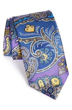 David Donahue Paisley Silk Tie available at #Nordstrom