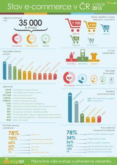 Stav e-commerce v České republice v roce 2013. Ačkoli největší zájem byl o elektroniku a kosmetiku, e-shopy nejčastěji nabízely oblečení. Dobírka má stále svojí sílu a význam.