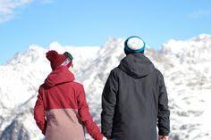 Stylingliebe wearing Bench snow wear in Tirol
