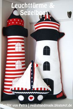 Nautical Quilt, Nautical Nursery, Baby Sewing Projects, Sewing Crafts, Handmade Crafts, Diy And Crafts, Couture Main, Baby Boy Room Decor, Felt Decorations