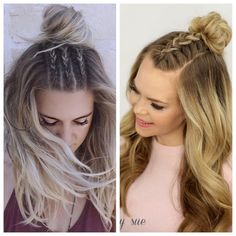 Celebrity-Inspired Hair Trends 2017 Cannes Film Festival Gracious Easy Hairstyles for braids pictures … Cute Down Hairstyles, Wavy Bob Hairstyles, Box Braids Hairstyles, Girl Hairstyles, Bridesmaid Hairstyles, Elegant Hairstyles, Hairstyle Ideas, Hair Ideas, Short Haircuts