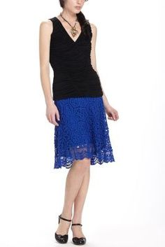 Doily Lace Skirt, Anthropologie