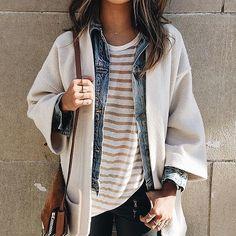 Sincerely Jules schools us on how to layer like a blogger. // Follow @ShopStyle on Instagram to shop this look