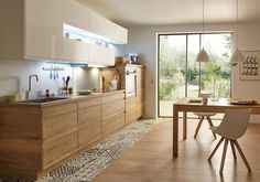 5 Kitchen Trends You Should Know in Kitchen Tiles, New Kitchen, Kitchen Interior, Kitchen Decor, Natural Wood Decor, Small Kitchen Storage, Scandinavian Kitchen, Cuisines Design, Kitchen Designs