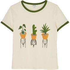 Monki Sara tee (8.610 CLP) ❤ liked on Polyvore featuring tops, t-shirts, shirts, t shirt, pattern perfect, patterned shirts, cut loose t shirts, print shirts, textured t shirt and textured shirt