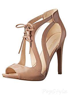 Nine West Momentous Leather Dress Sandal