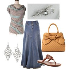 Tan and Green by justlovely541 on Polyvore featuring Lilla Rose and 1928