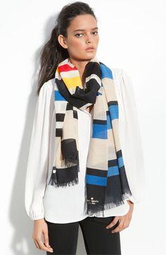 Kate Spade wool scarf