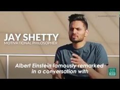 Changing the World starts with You. Motivational philosopher, Jay Shetty, explains that in order to see a change in the world we have to focus inward; away from blame and hatred and towards self betterment.