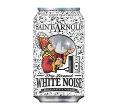 Saint Arnold Dry Hopped White Noise now available in Texas and Louisiana