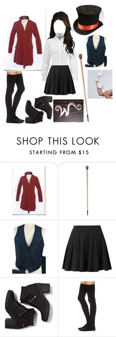 """""""Female Willy Wonka (My version)"""" by crimsonblackrose ❤ liked on Polyvore featuring Keds, Commando and Jeanne Simmons"""