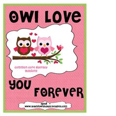 How cute are these owls?! This site has great ideas for seasonal lessons.