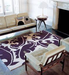 love this purple rug!