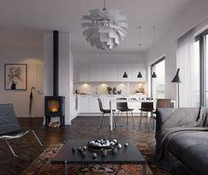 VrayWorld - Scandinavian interior.