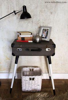 Én csináltam: régi kofferből kisasztal :) | TÉRKULTÚRA lakberendező…