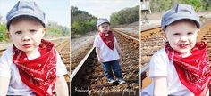My Son is in love with trains and will be having a thomas the train themed 3rd bday party, we took these pics for his invitations and just to capture him at this age.