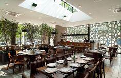 Restaurante Manish : Espaços gastronômicos modernos por ODVO Arquitetura e Urbanismo