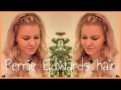 December 20 - Perrie Edwards Jingel Bell Ball Hair Tutorial | ShinyLipsTv