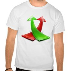 Red and green positive arrows t shirt T Shirt, Hoodie Sweatshirt