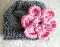 Knit Baby Hat, Baby Girl Hat, Knit Baby Girl Hats, Baby Knit Hat, Baby Hats for Girls, Winter Baby Girl Hats