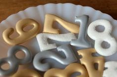Smart: If you worry about piping perfect shapes on your cookies, make royal icing transfers instead and apply them to cookies after they're iced.
