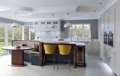 How do you like this kitchen design with built in dinette?  Coastal Virginia Magazine's Best Kitchen & Bathroom Remodeler#dogoodwork #kitchendesign #hgtv #kitchen #bathroom #homeimprovement #home #remodeling #remodel
