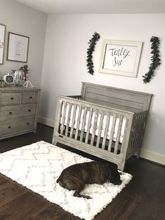 Love this but I would add paper flowers on the wall Baby Nursery: Easy and C. - Love this but I would add paper flowers on the wall Baby Nursery: Easy and Cozy Baby Room Ideas -