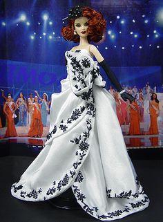 OOAK Barbie NiniMomo's Miss Texas 2009