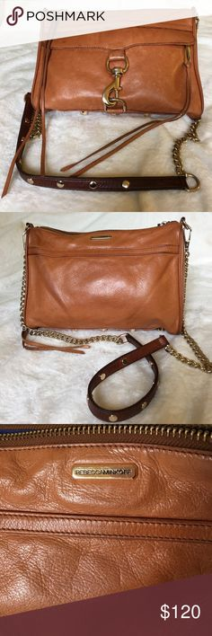 Rebecca Minkoff MAC medium bag Rebecca Minkoff MAC medium bag. Used with care.  Leather on the strap has darkened color, very clean interior and everything is intact.  Smoke free home. Rebecca Minkoff Bags Shoulder Bags