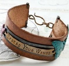 metal stamped bracelet - Friendly Reminder: Metal Stamped Jewelry to Help You Stay on Track with Resolutions