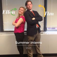 Meet the talented, summer #Interns at Atlantic Business Consultants.  These two have already proved they can make a positive impact on our team.  Ellen is studying at University of Dayton majoring in Marketing, and Tim is currently enrolled at Southeast Missouri State University majoring in Public Relations.