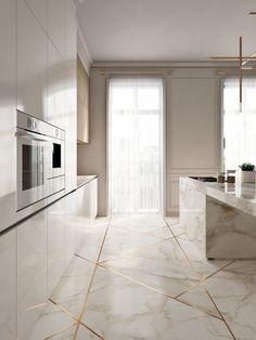 #kitchen #interior #modern #marble #interiordesign