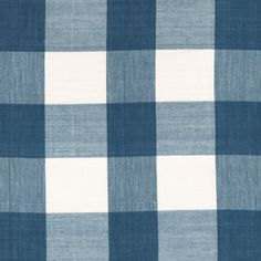 "601 Indigo Check Pattern Dimensions: 2"" stripe Vertical Repeat: 4.5""  Horizontal Repeat: 4.5""    Color: Indigo.   Les Indiennes textiles are block-printed on organic cotton using natural dyes. Small smudges and other imperfections are normal, pleasing hints that the fabrics are made entirely by hand. Please follow our care instructions. For more information go to About Our Fabrics."