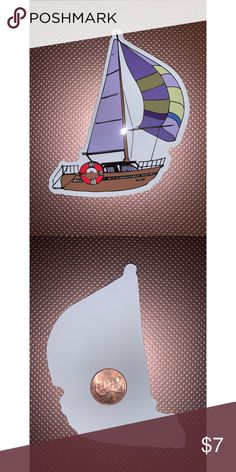ANCHOR Decal Sticker Vinyl Car Boat Window Wall Bumper Macbook Sailing Nautical
