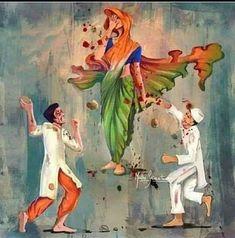 न्यू इंडिया में भारत के लोग नहीं रह सकते ? Unity, Affair, Painting, Instagram, Twitter, Painting Art, Paintings, Drawings