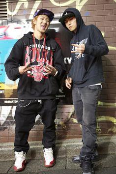Snow boarder X Hip hop producer/rapper