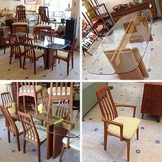 #DanishModern #Teak #DiningSet With 8 Chairs -Info @Link below.