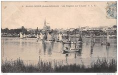Régates en Loire des canots de Basse-Indre