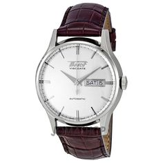 Tissot Heritage Visodate Automatic Silver Dial Mens Watch T019.430.16.031.01 455