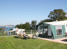 Touring and Camping at Beverley Park, South Devon