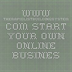 www.therapidlistbuildingsystem.com  Start your own online business with the foundation that is list building, this system is F*R*E*E however I strongly recommend you to upgrade right away so you don't have to pass up any leads to me anymore. This is about helping you with getting started building a list and I'm not interested in getting your leads because if you start to earn I will earn as well... it's not as much as you get but it's enough to keep me motivated to help you getting even…