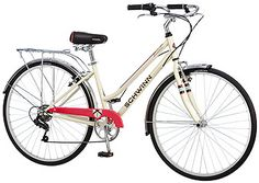 The Schwinn Wayfarer Women's Hybrid bicycle is the perfect bike for cruising the neighborhood, bike path or just going out for a leisurely ride. Best Road Bike, Bicycle Maintenance, Cool Bike Accessories, Military Discounts, Cycling Equipment, Bike Life, Sport Bikes, Just In Case, Retro Fashion