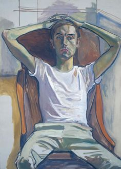 Alice Neel - Portret van zoon Hartley tentoonstelling Gemeentemuseum Den Haag