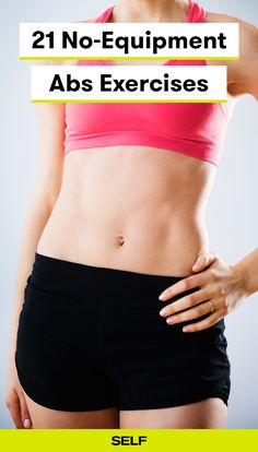 This abs workout for women will strengthen and sculpt your core. If you're a beginner or more advanced, you can always modify the moves. These crunches and lifts will work your total abdominal area and you can do them at home or in the gym!