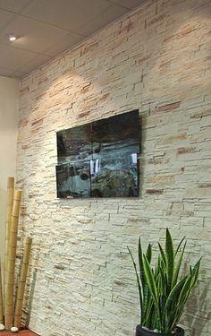 Plaqueta decorativa con acabado imitaci n ladrillo en - Plaqueta decorativa piedra ...