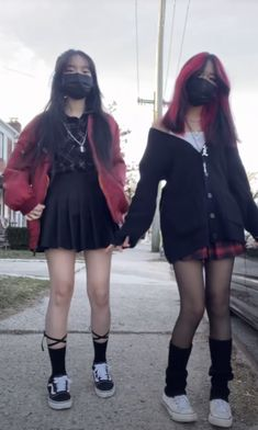 Swaggy Outfits, Edgy Outfits, Retro Outfits, Grunge Outfits, Cute Casual Outfits, Egirl Fashion, Kawaii Fashion, Fashion Outfits, Aesthetic Grunge Outfit