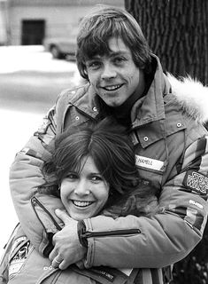 Mark Hamill and Carrie Fisher in Finse Norway esb bts 03